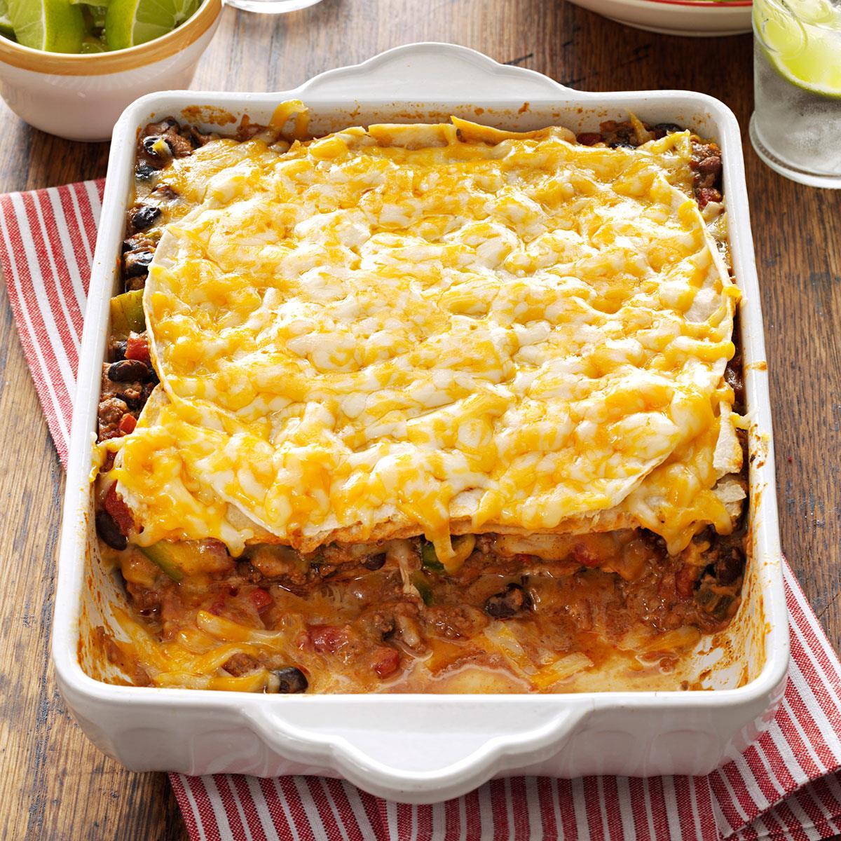 Mexican Lasagna Recipe: Idaho Youth ChalleNGe Academy